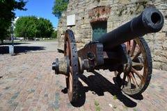 Oude stadskust van Montevideo stock foto's