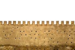 Oude stadsmuren in Fez, Marokko Stock Foto