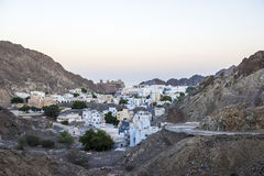 Oude stadsmuscateldruif, Oman royalty-vrije stock fotografie