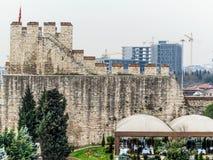 Oude stadspoort in Istanboel Stock Afbeeldingen