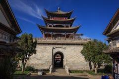 Oude stadsstad van Dali, in de provincie van Yunnan van China Stock Afbeelding