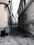 Oude stadsstraat Stock Foto