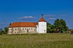 Oude stadsvesting in Durdevac, Kroatië Royalty-vrije Stock Foto