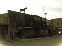 Oude stadszaal Royalty-vrije Stock Fotografie