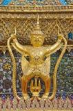 Oude standbeelden van Garuda. Royalty-vrije Stock Afbeelding