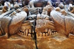 Oude standbeeldreus Stock Afbeeldingen
