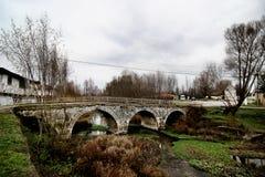 Oude steen bridg Stock Foto's