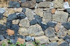 Oude steenachtige muur Royalty-vrije Stock Afbeelding