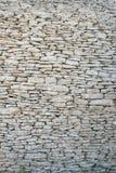 Oude steenachtige muur stock fotografie