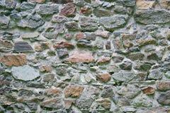 Oude steenachtige muur royalty-vrije stock foto