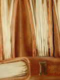 Oude steenboeken Royalty-vrije Stock Fotografie