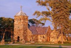 Oude steenkerk Stock Foto's