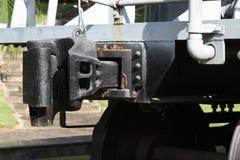 Oude steenkoolwagens royalty-vrije stock foto's