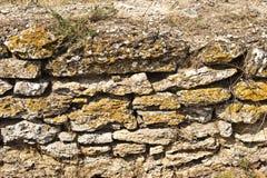 Oude steenmuur Stock Afbeelding