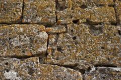 Oude steenmuur Royalty-vrije Stock Afbeelding