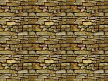 Oude steenmuur Royalty-vrije Stock Fotografie