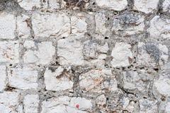 Oude steenmuur Royalty-vrije Stock Afbeeldingen