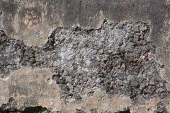Oude steenmuur met patroon Stock Foto's