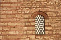 Oude steenmuur - RUW formaat stock afbeelding