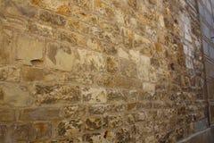 Oude steenmuur - voor achtergrond Stock Foto's
