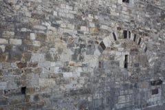 Oude steenmuur - voor achtergrond Stock Afbeeldingen