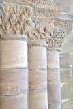 Oude steenpijlers Stock Afbeeldingen