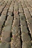 Oude steenweg Stock Afbeelding