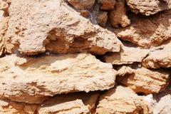 Oude stenen hintergrund. Stock Foto's