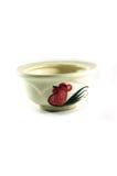 Oude stijl Thaise ceramische kom Stock Foto's