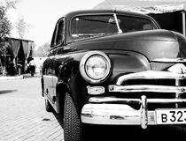 Oude stijlauto Royalty-vrije Stock Foto