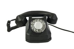 Oude stijltelefoon Stock Foto's