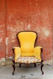 Oude stoel Royalty-vrije Stock Fotografie