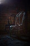 Oude stoel Royalty-vrije Stock Afbeeldingen