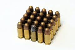 Oude stoffige het bruinen kogels Stock Fotografie