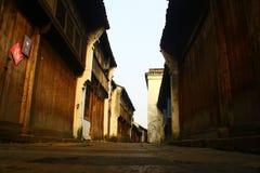 Oude straat Royalty-vrije Stock Afbeeldingen