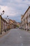Oude straat royalty-vrije stock fotografie