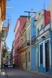 Oude straat Havana stock afbeeldingen