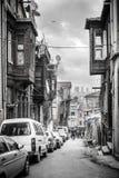 Oude straat in Istanboel Royalty-vrije Stock Afbeelding