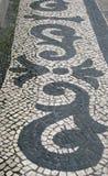 Oude straat in Lissabon royalty-vrije stock foto's