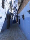 Oude straat in Marokko royalty-vrije stock afbeeldingen