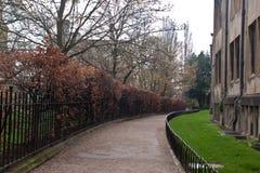 Oude straat in Oxford, Engeland, het UK Royalty-vrije Stock Fotografie