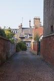 Oude straat in St Andrews, Schotland, het UK Stock Fotografie