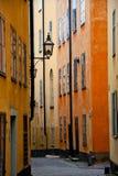 Oude Straat, Stockholm Royalty-vrije Stock Fotografie