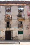 Oude straat van Havana Royalty-vrije Stock Fotografie