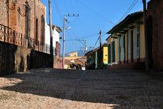 Oude straten van de stad Royalty-vrije Stock Afbeeldingen