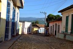 Oude straten van de stad Stock Fotografie