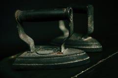 Oude strijkijzers Royalty-vrije Stock Afbeelding