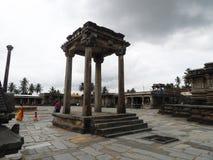 Oude structuur bij tempel Stock Fotografie