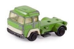 Oude stuk speelgoed auto Stock Foto