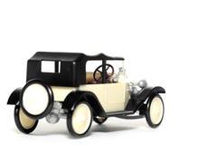 Oude stuk speelgoed auto Tatra 11 Faeton Royalty-vrije Stock Fotografie